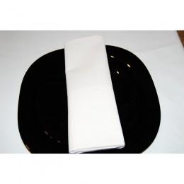 Салфетка Сатен белый 0.45х0.45м